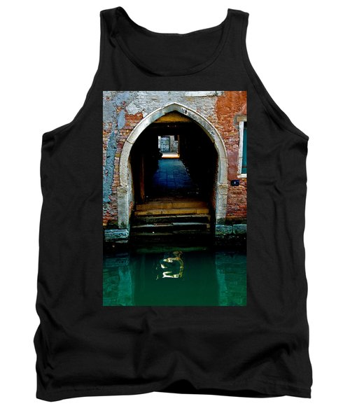 Canal Entrance Tank Top by Harry Spitz