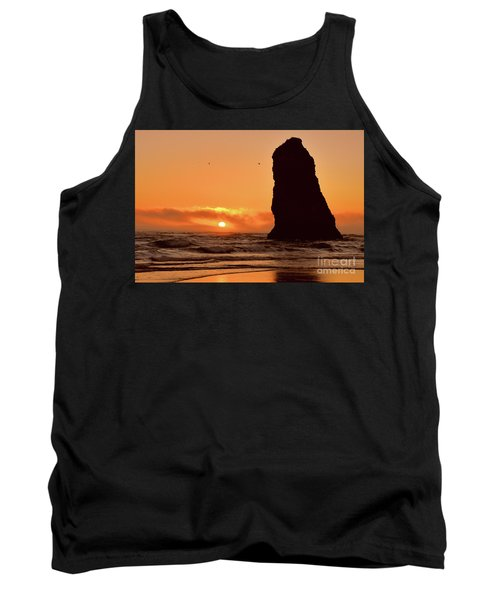 Cannon Beach Sunset Tank Top by Scott Cameron