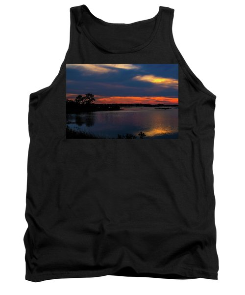 Tank Top featuring the photograph Ceader Key Florida  by Louis Ferreira