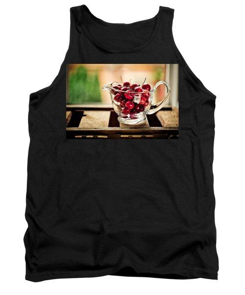 Cherries Tank Top