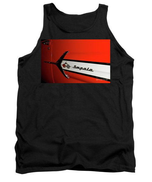 Chevy Impala Tank Top by Pamela Walrath