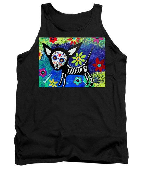 Chihuahua Day Of The Dead Tank Top