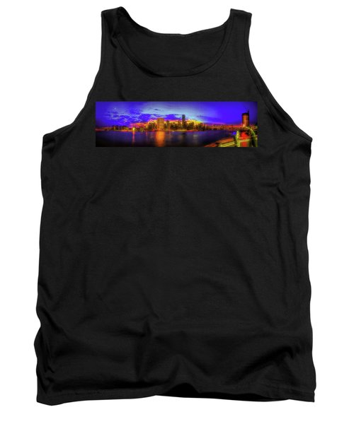 Tank Top featuring the photograph Chillin' At Gantry by Theodore Jones
