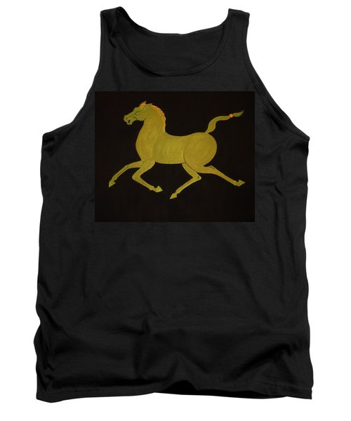 Chinese Horse #2 Tank Top by Stephanie Moore