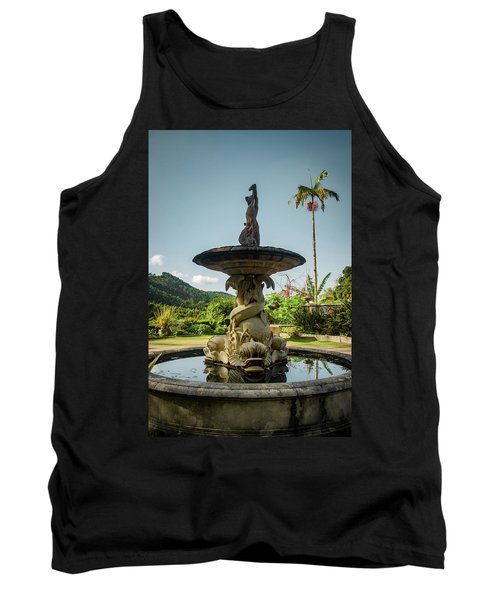 Tank Top featuring the photograph Classic Fountain by Carlos Caetano