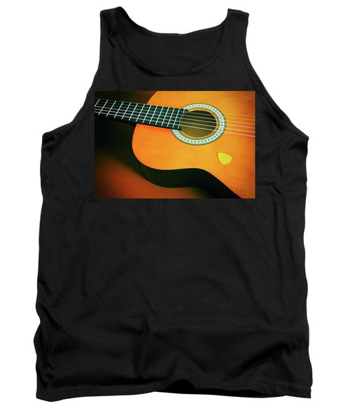 Tank Top featuring the photograph Classic Guitar  by Carlos Caetano