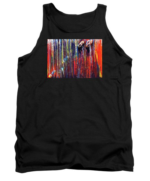 Climbing The Wall Tank Top by Ralph White
