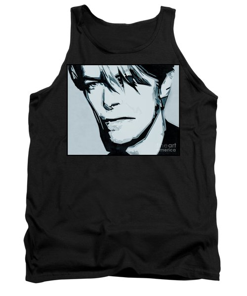 Born Under A Stone Born With A Single Voice. Bowie Tank Top