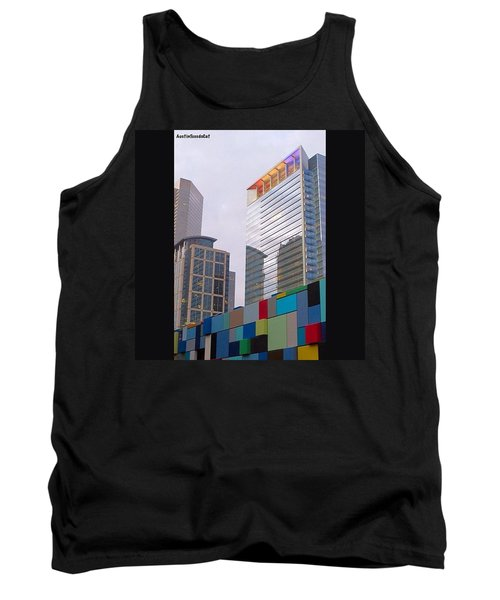 #downtown #houston From #discoverygreen Tank Top