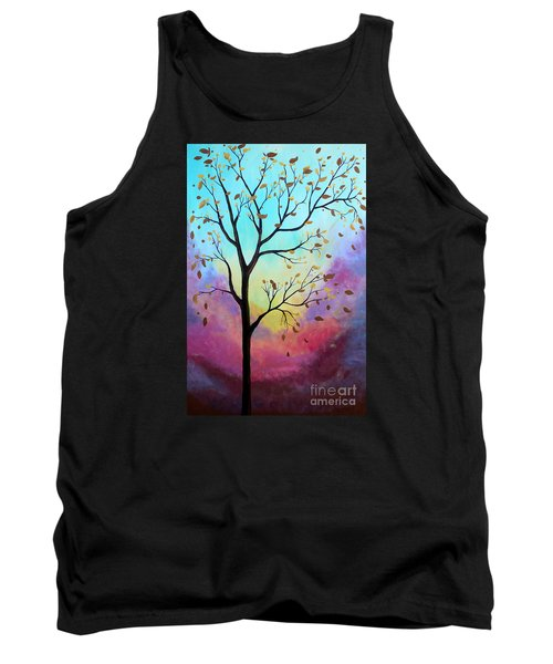 Enchanted Aura Tank Top by Stacey Zimmerman