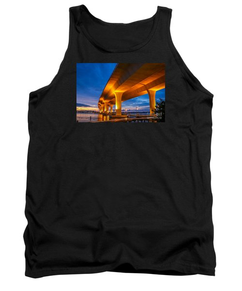 Evening On The Boardwalk Tank Top by Tom Claud