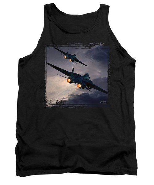 F-14 Flying Iron Tank Top