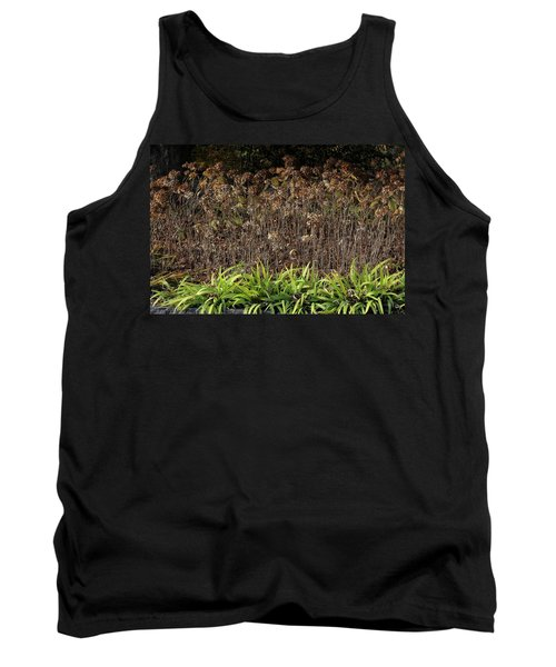 Tank Top featuring the photograph Fall Contrasts by Deborah  Crew-Johnson
