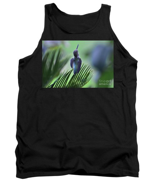 Tank Top featuring the photograph First Warning by Debby Pueschel