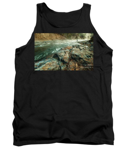 Tank Top featuring the photograph Fishing Day by Iris Greenwell