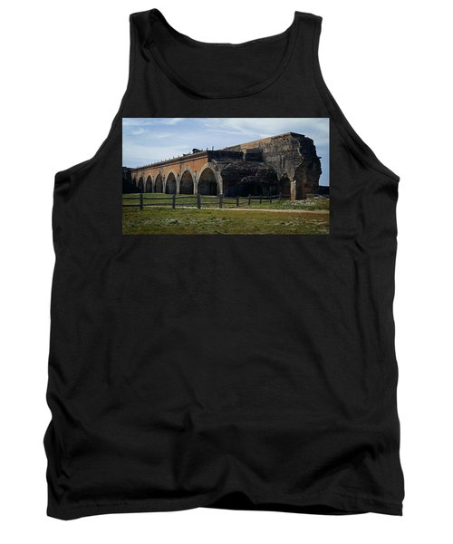 Ft. Pickens Explosion Tank Top