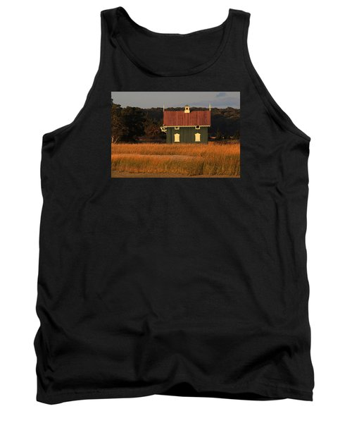 Gamecock Cottage Stony Brook New York Tank Top