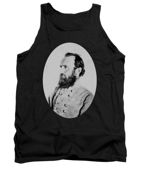 General Thomas Stonewall Jackson Photo Tank Top