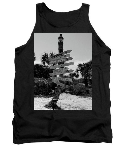 Going My Way Tank Top
