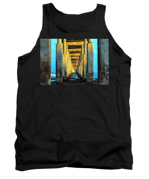 Golden Morning Tank Top by Joseph S Giacalone