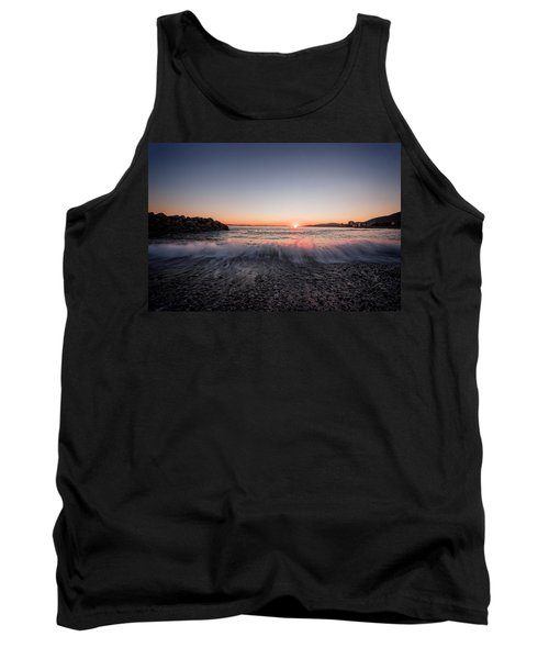 Kiss Of The Night Tank Top by Sabine Edrissi