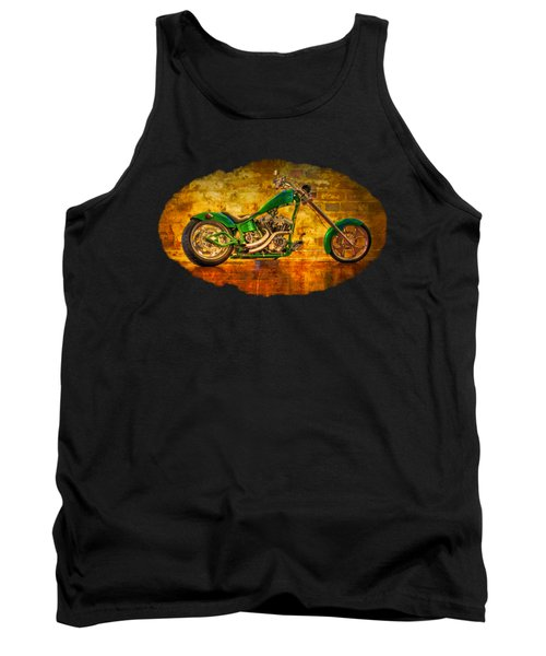 Green Chopper Tank Top
