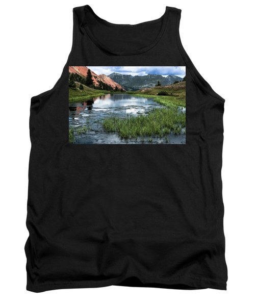Tank Top featuring the photograph Grey Copper Gulch by Jay Stockhaus