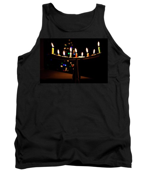 Tank Top featuring the photograph Happy Holidays by Susan Stone