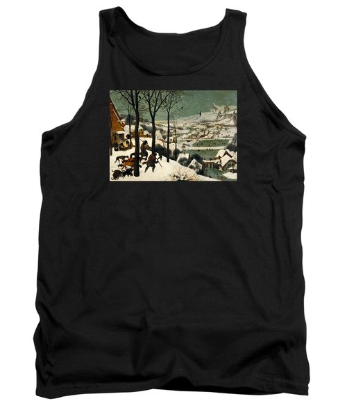 Hunters In The Snow Tank Top