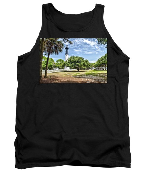Hunting Island Lighthouse Tank Top