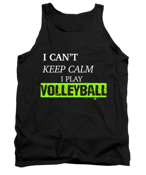 I Play Volleyball Tank Top