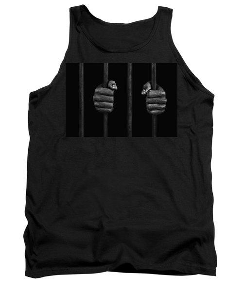 In Prison Tank Top by Chevy Fleet