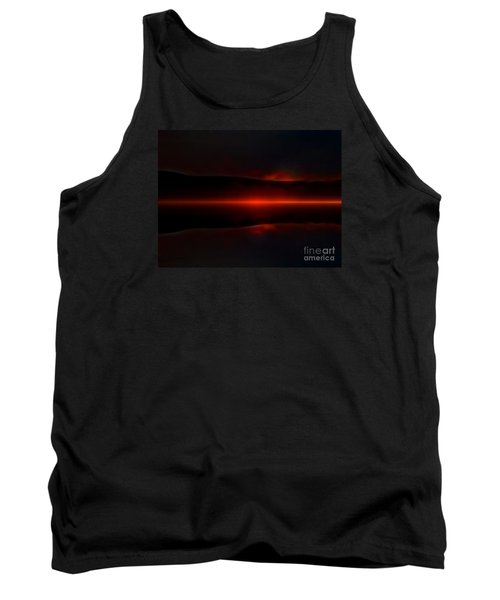 Island Fog Sunrise Tank Top