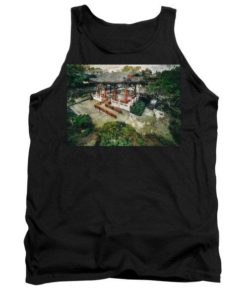 Tank Top featuring the photograph Jade Garden by Wayne Sherriff