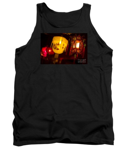 Japanese Lanterns 6 Tank Top