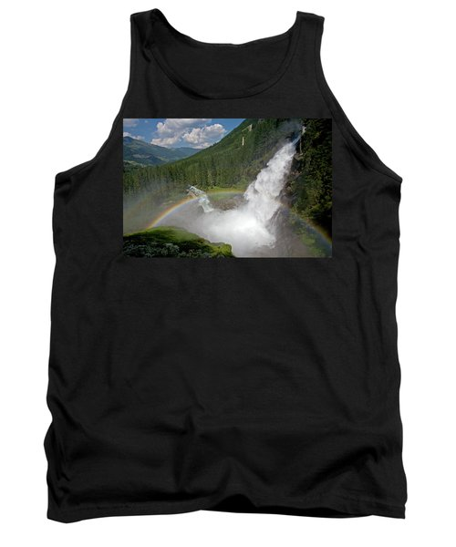 Krimml Waterfall And Rainbow Tank Top