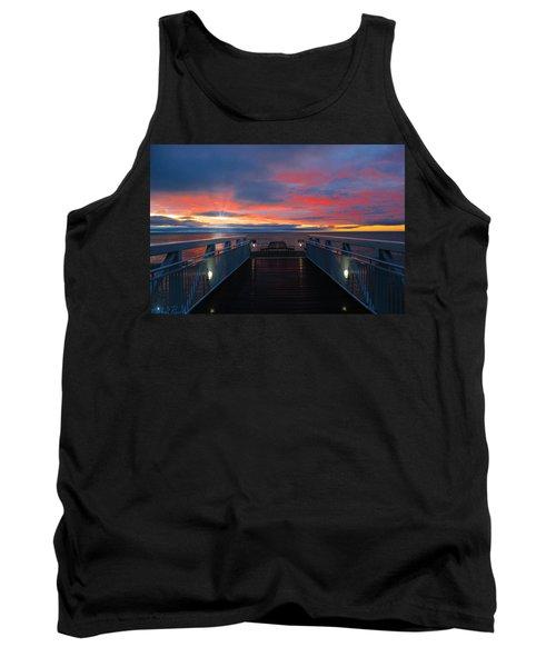 Lake Huron Sunrise Tank Top