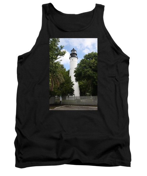 Lighthouse - Key West Tank Top by Christiane Schulze Art And Photography