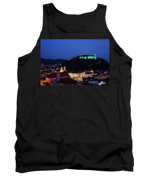 Ljubljana Castle Tank Top