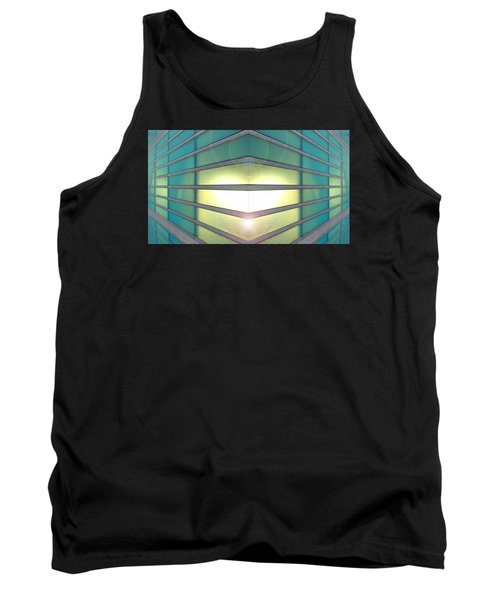 Tank Top featuring the photograph Luminous Corner by John Norman Stewart
