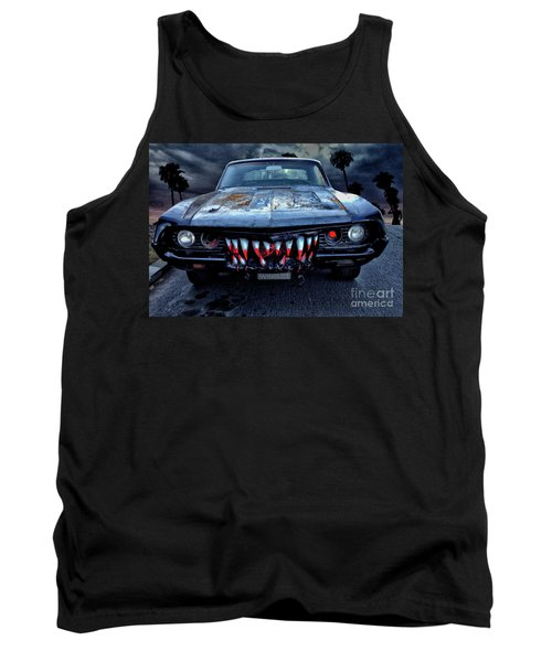 Mean Streets Of Belmont Heights Tank Top