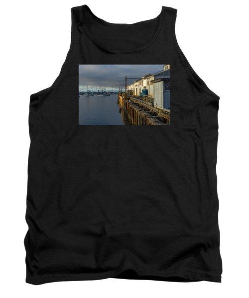 Monterey Commercial Wharf Tank Top by Derek Dean