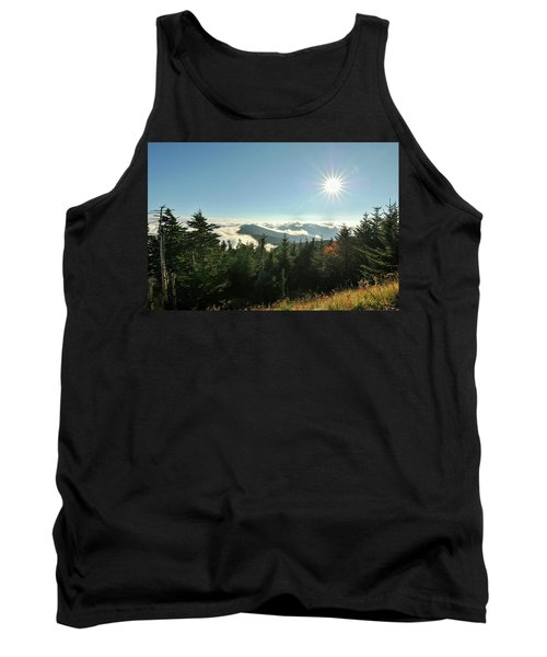 Mt Mitchell Landscape Tank Top