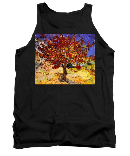 Tank Top featuring the painting Mulberry Tree by Van Gogh