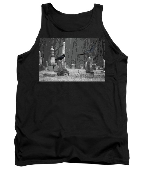 Tank Top featuring the photograph Murder Of Crows by Rowana Ray