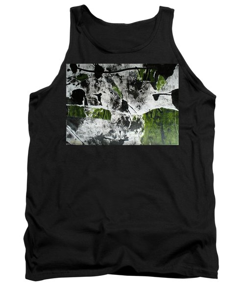 Tank Top featuring the mixed media Mysterion II by Mary Sullivan