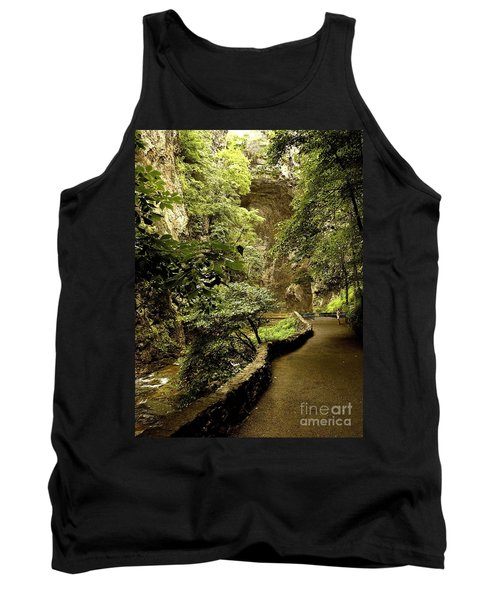 Tank Top featuring the photograph Natural Bridge  by Raymond Earley