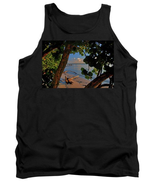 Tank Top featuring the photograph 1- North Palm Beach by Joseph Keane