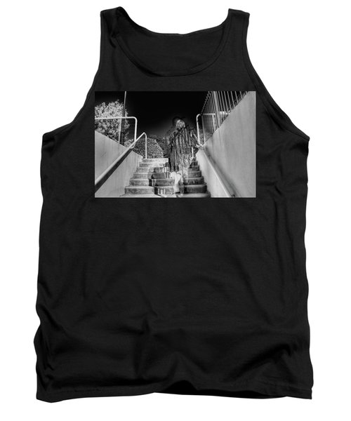 Out Of Phase Tank Top by Andy Lawless