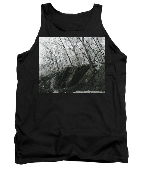 Tank Top featuring the photograph Out Of The Rocks by Ellen Levinson